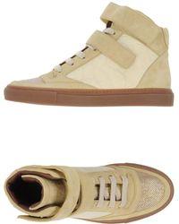 Brunello Cucinelli - Sneakers abotinadas - Lyst