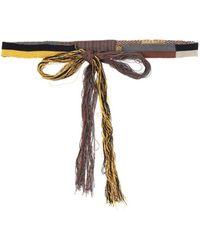 Jil Sander Belt - Yellow