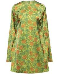Marques'Almeida Short Dress - Green