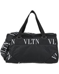 Valentino Garavani Travel Duffel Bags - Black