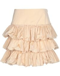 Blugirl Blumarine Midi Skirt - Natural