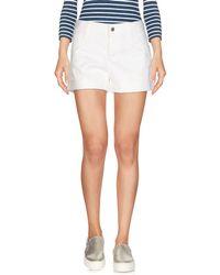 Stella McCartney Short en jean - Blanc