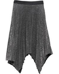 Suoli Falda corta - Metálico