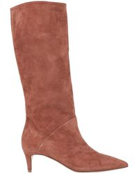 Gentry Portofino Knee Boots - Brown