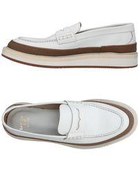 Sartori Gold Loafer - White