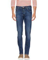 E.MARINELLA Denim Trousers - Blue