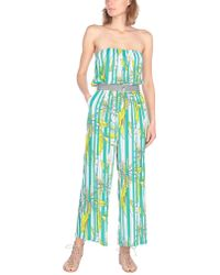 Space Style Concept Jumpsuit - Green