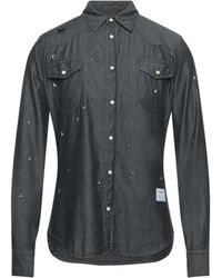 Saucony Camicia jeans - Nero