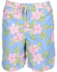 Lyst - Short de bain Polo Ralph Lauren pour homme en coloris Bleu e103f17db20