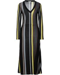 Siyu Midi Dress - Black