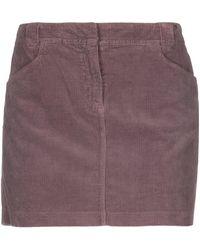 Henry Cotton's Mini Skirt - Purple