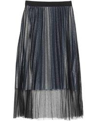 Brigitte Bardot Jupe longue - Bleu