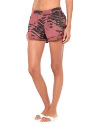 adidas By Stella McCartney Beach Shorts And Trousers - Red