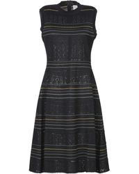 Carolina Herrera Midi Dress - Blue