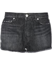 Heron Preston Shorts jeans - Nero