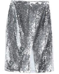 Ganni Midi Skirt - Metallic