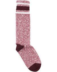 Burberry Short Socks - Purple