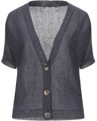 Cappellini By Peserico Cardigan - Grey