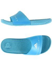 adidas By Stella McCartney Adissage Slides - Blue