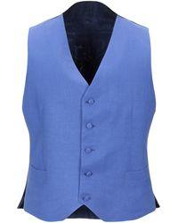 Canali Waistcoat - Blue