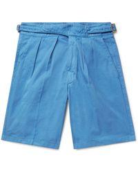Rubinacci Shorts & Bermuda Shorts - Blue