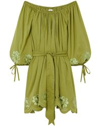 Innika Choo Short Dress - Green
