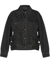 McQ Denim Outerwear - Black