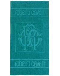 Roberto Cavalli Toalla de playa - Verde