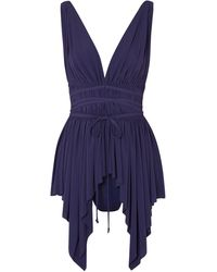 Norma Kamali Beach Dress - Blue