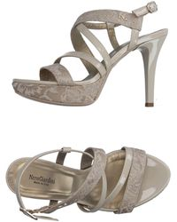 Nero Giardini Sandals - Grey