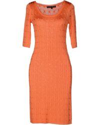 Ralph Lauren Black Label Knee-length Dress - Orange