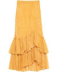 Mes Demoiselles Long Skirt - Yellow