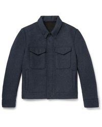 MR P. Coat - Blue