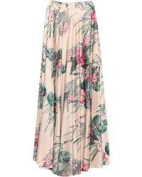 NUALY Long Skirt - White