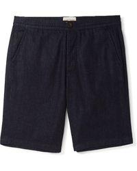 Oliver Spencer Denim Shorts - Blue