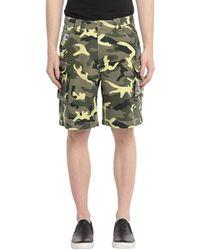 Karlkani Denim Shorts - Green