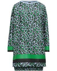Guttha Short Dress - Blue