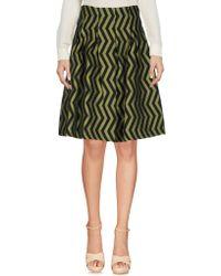 Anonyme Designers   Knee Length Skirt   Lyst