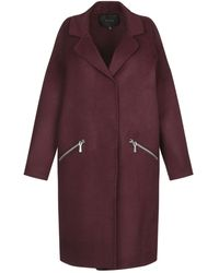 Maje Coat - Purple