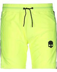Hydrogen Shorts & Bermuda Shorts - Yellow