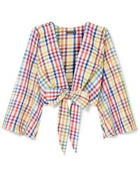 MDS Stripes Blouse - Yellow