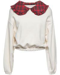 Souvenir Clubbing Sweat-shirt - Blanc