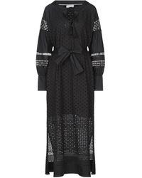 Alpha Studio Long Dress - Black