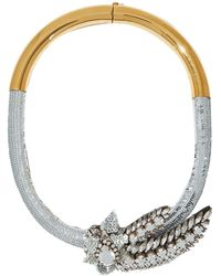 Shourouk Necklace - Metallic