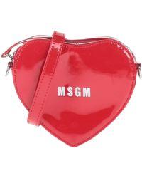 MSGM Cross-body Bag - Red