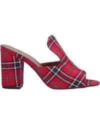 Paris Texas Sandals - Red