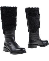 Jil Sander Boots - Black