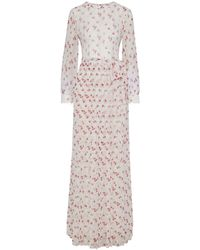 Mikael Aghal Long Dress - White