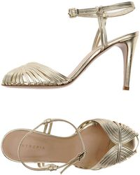 INTROPIA Sandals - Metallic