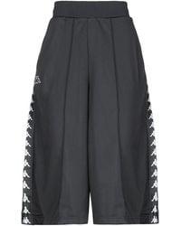 Kappa Pantalones piratas - Negro